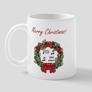 Musician Merry Christmas Mug
