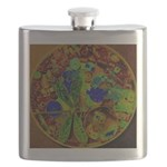 Magical Dragonfly Design Flask