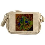 Magical Dragonfly Design Messenger Bag