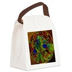 Magical Dragonfly Design Canvas Lunch Bag