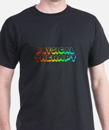 PT Physical Therapy Rainbow T-Shirt