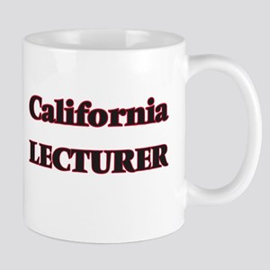 California Lecturer Mugs