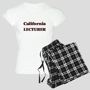 California Lecturer Women's Light Pajamas