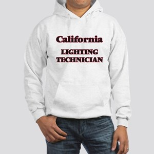 California Lighting Technician Hooded Sweatshirt