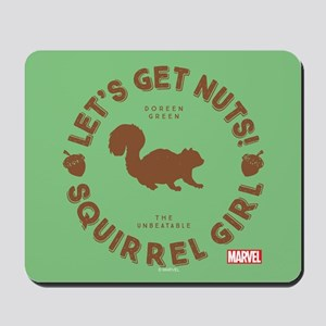 Squirrel Girl Let's Get Nuts Mousepad