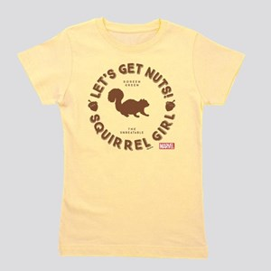 Squirrel Girl Let's Get Nuts Girl's Tee
