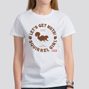 Squirrel Girl Let's Get Nuts Women's T-Shirt