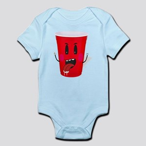 Cups playing beer pong Body Suit