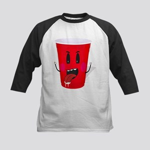 Cups playing beer pong Baseball Jersey
