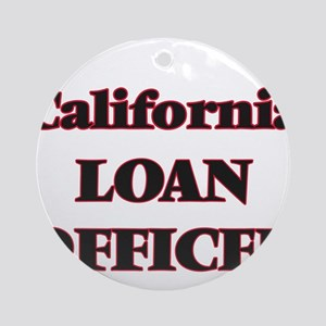California Loan Officer Round Ornament