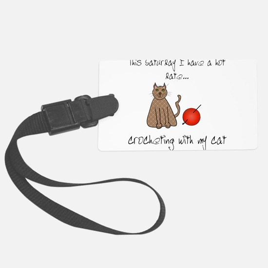 crochetcat.png Luggage Tag