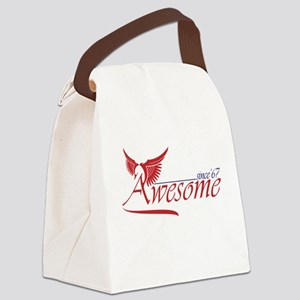 awesome since 1967 Canvas Lunch Bag