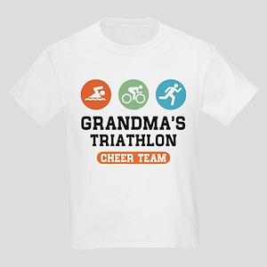 Grandma's Triathlon Cheer Team T-Shirt