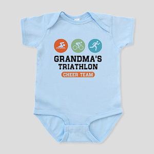 Grandma's Triathlon Cheer Team Body Suit