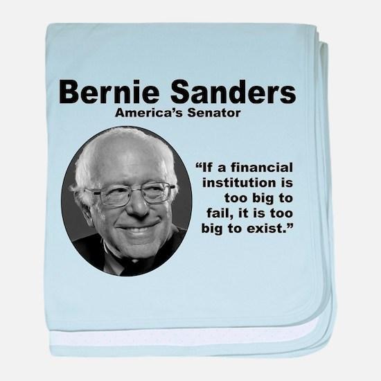 Sanders: TooBig baby blanket