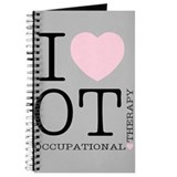 Occupational therapist Journals & Spiral Notebooks