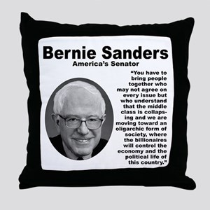 Sanders: Together Throw Pillow