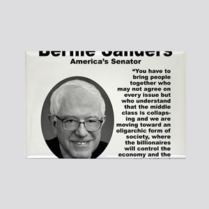 Sanders: Together Rectangle Magnet