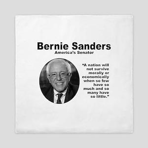 Sanders: Survive Queen Duvet