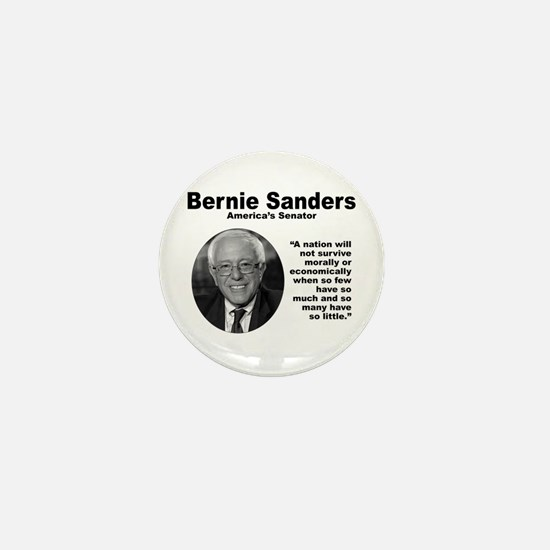 Sanders: Survive Mini Button