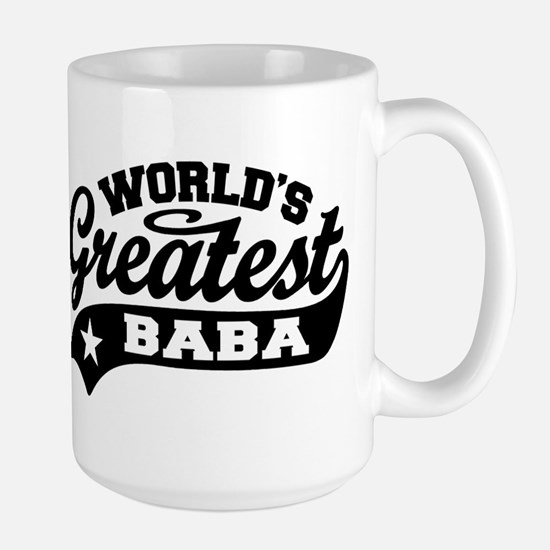 World's Greatest Baba Large Mug