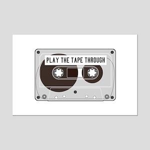 Play The Tape Mini Poster Print