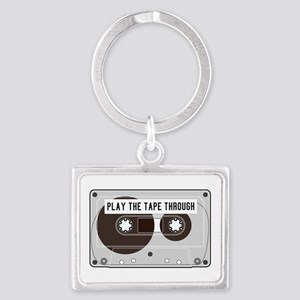 Play the Tape Landscape Keychain