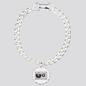 Play the Tape Charm Bracelet, One Charm