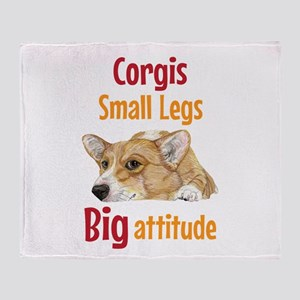 Big Attitude Throw Blanket