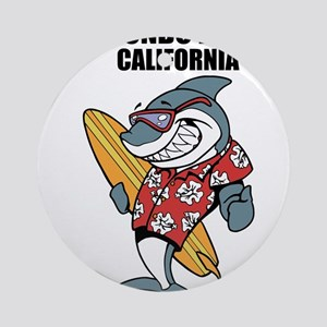 Redondo Beach, California Round Ornament