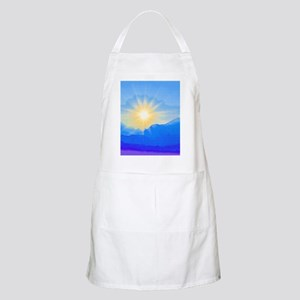 Watercolor Sunrise Apron