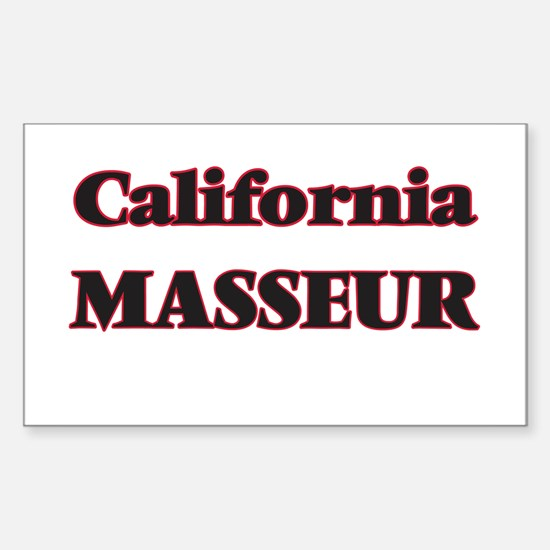 California Masseur Decal