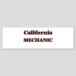 California Mechanic Bumper Sticker
