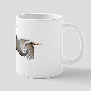 Helaine's Soaring Egret Mug Mugs