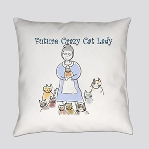 Futurecatlady Everyday Pillow