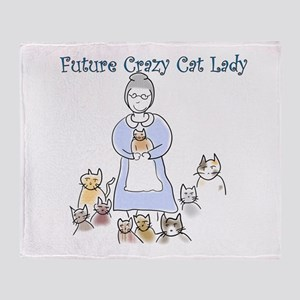 Futurecatlady Throw Blanket