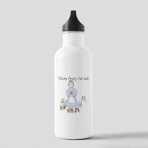 Futurecatlady Water Bottle