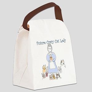Futurecatlady Canvas Lunch Bag