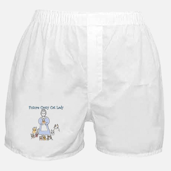 Futurecatlady.png Boxer Shorts