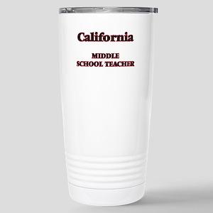 California Middle Schoo Stainless Steel Travel Mug