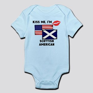 Kiss Me Im Scottish American Body Suit
