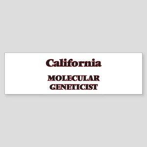 California Molecular Geneticist Bumper Sticker