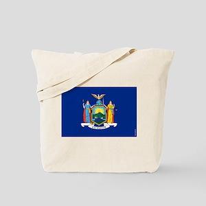 New York State Flag Tote Bag