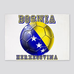 Bosnia Herzegovina Football 5'x7'area Rug