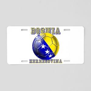 Bosnia Herzegovina Football Aluminum License Plate