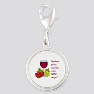 Funny Wine Lovers Quote Charms