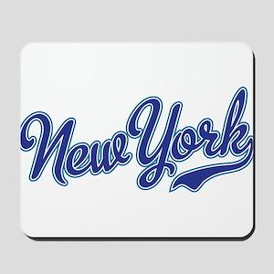 New York Script Font Mousepad