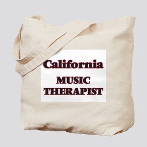 California Music Therapist Tote Bag