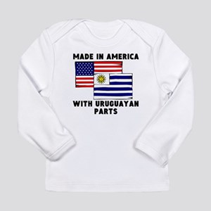 Made In America With Uruguayan Parts Long Sleeve T