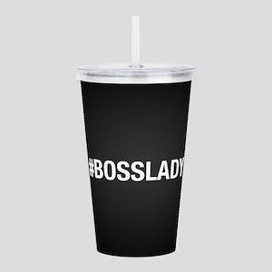 Hashtag Bosslady Acrylic Double-wall Tumbler